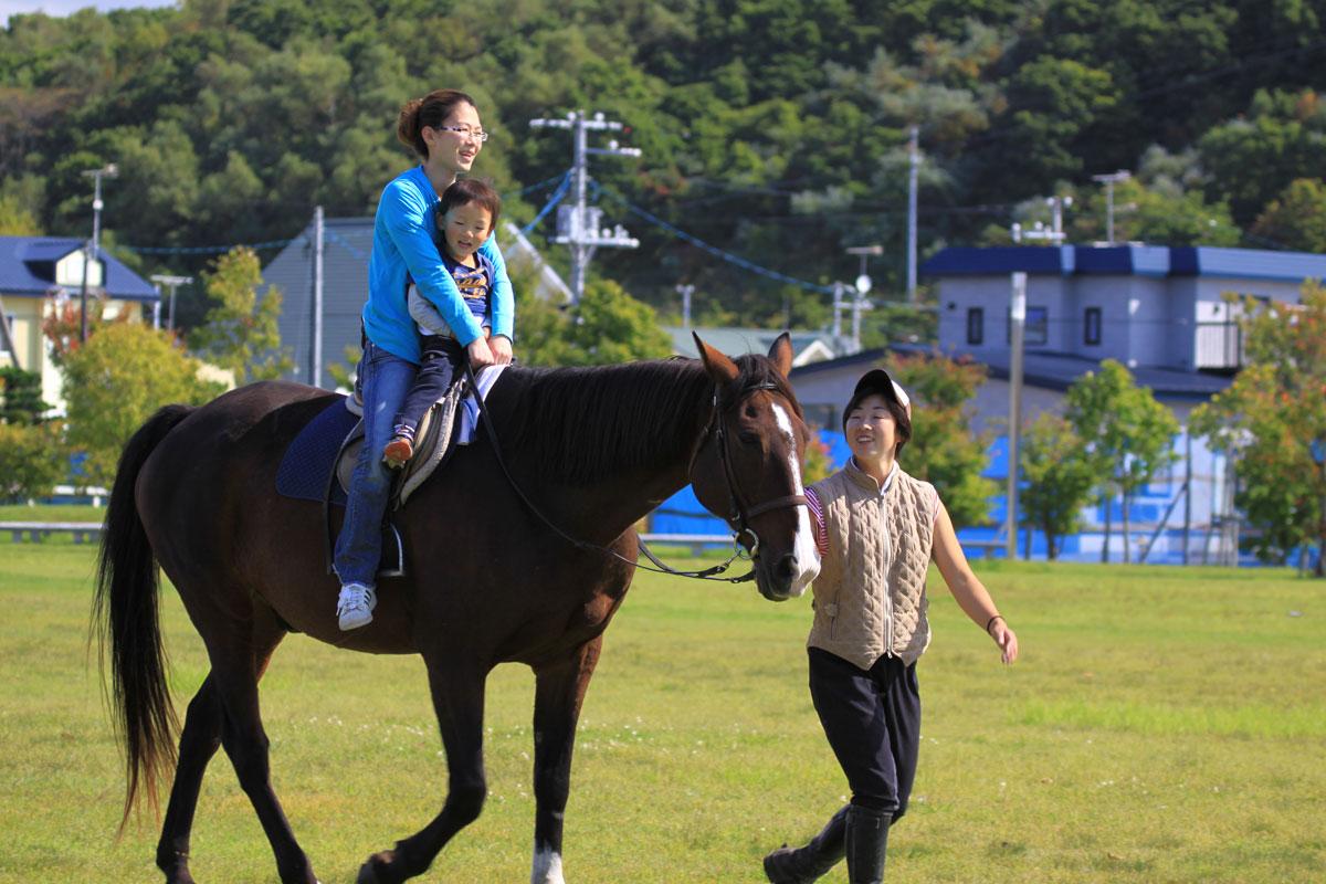新冠町民乗馬の集い-4