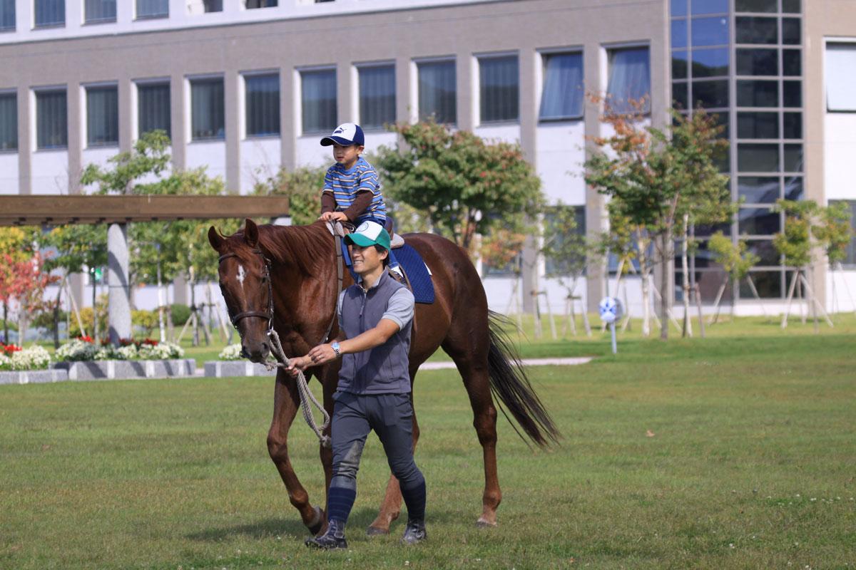 新冠町民乗馬の集い-6