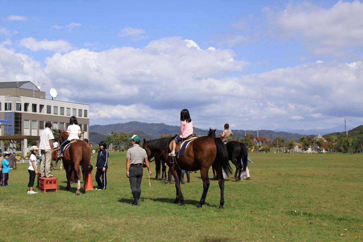 新冠町民乗馬の集い-7