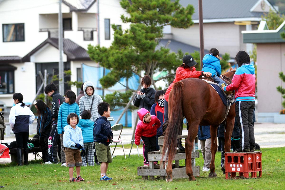 新冠町民乗馬の集い-3