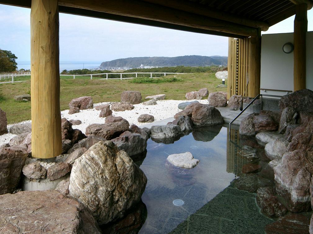 新冠温泉の露天風呂